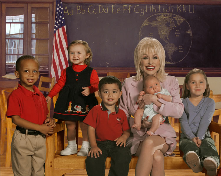 Dolly Parton's Imagination Library - Early Childhood Literacy